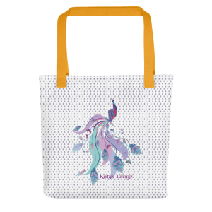 Tote bag with Peacock Print