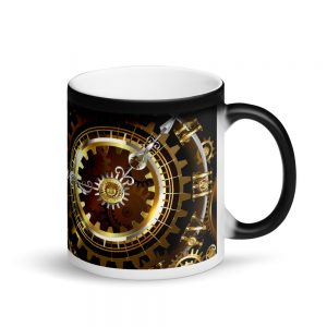 coffee mug with mirror of desire design